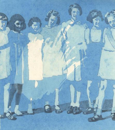 Anne e le sue amiche di scuola