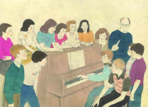 L'aula di musica