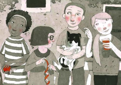 Illustramente <br> Il giardino degli aranci dorati <br>Palermo 2017 <br> I Premio